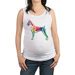 Boxer Color Splash Maternity Tank Top