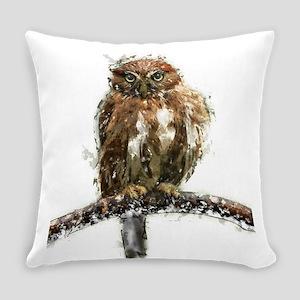 Pygmy Owl Everyday Pillow