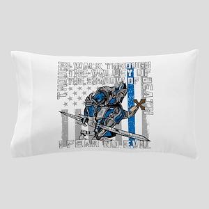 I Fear No Evil Police Crusader Pillow Case