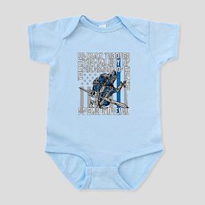 I Fear No Evil Police Crusader Infant Bodysuit