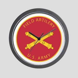 US Army Field Artilery Wall Clock
