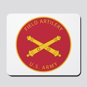 US Army Field Artilery Mousepad