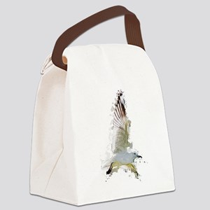 Flying Seagull Canvas Lunch Bag