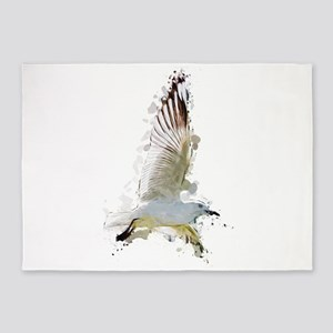 Flying Seagull 5'x7'Area Rug