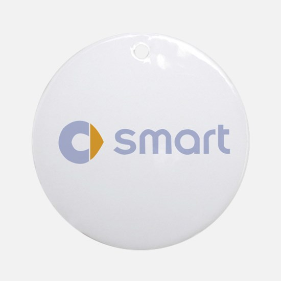 smart Round Ornament