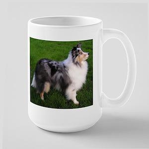 shetland sheepdog full 2 Mugs