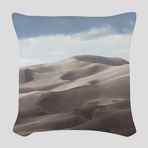 Sand Dunes Woven Throw Pillow