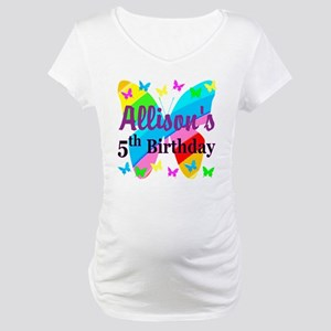PERSONALIZED 5TH Maternity T-Shirt