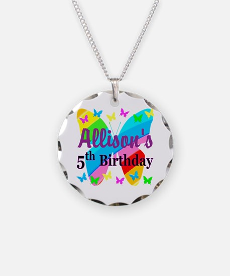 PERSONALIZED 5TH Necklace
