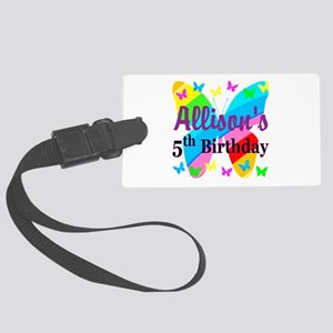 PERSONALIZED 5TH Large Luggage Tag
