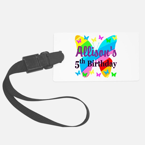PERSONALIZED 5TH Luggage Tag