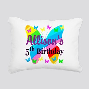PERSONALIZED 5TH Rectangular Canvas Pillow