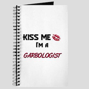 Kiss Me I'm a GARBOLOGIST Journal