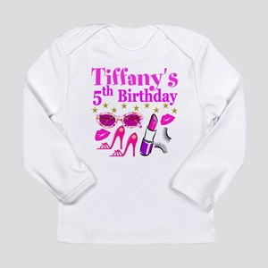 PERSONALIZED 5TH Long Sleeve Infant T-Shirt