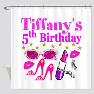 PERSONALIZED 5TH Shower Curtain