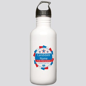 Candidate and Slogan P Stainless Water Bottle 1.0L