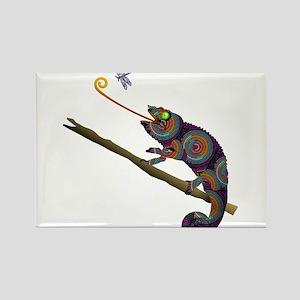 Beaded Chameleon on Branch Magnets