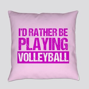 Rather Volleyball Everyday Pillow