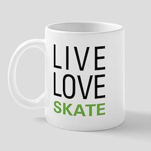 Live Love Skate Mug
