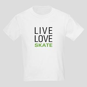 Live Love Skate Kids Light T-Shirt