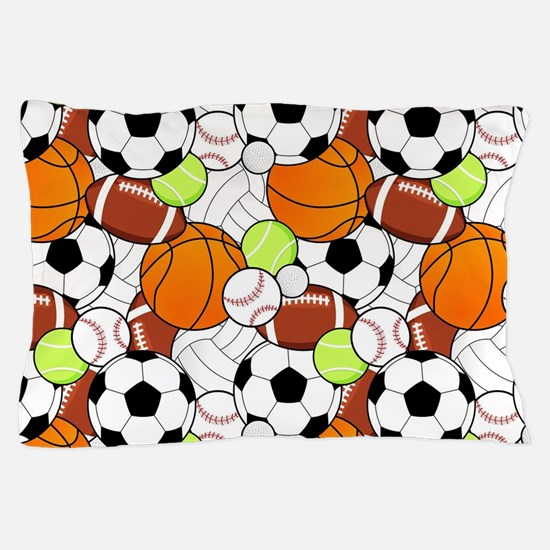 Sports Fan Pattern Pillow Case