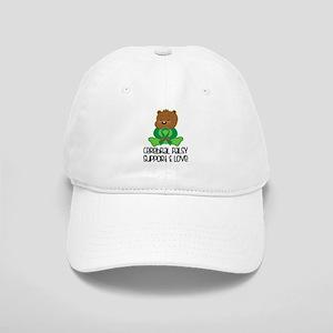 Cerebral Palsy Support Bear Baseball Cap