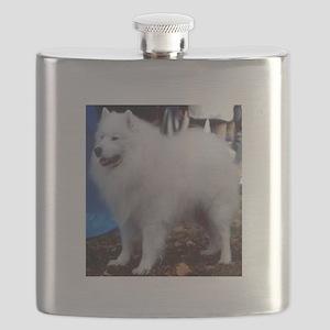 samoyed full Flask