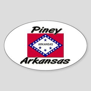 Piney Arkansas Oval Sticker