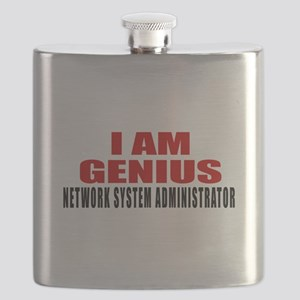 I Am Genius Network System Administrator Flask