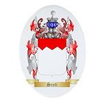 Scoti Oval Ornament