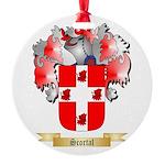 Scortal Round Ornament