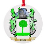 Scolts Round Ornament