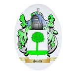 Scolts Oval Ornament