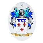 Scoble Oval Ornament