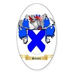 Sclater Sticker (Oval)