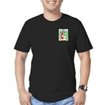 Sciuscietto Men's Fitted T-Shirt (dark)
