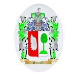 Scinelli Oval Ornament