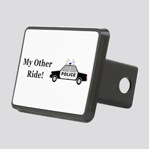 Police My Other Ride Rectangular Hitch Cover