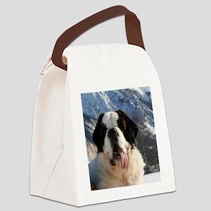 saint bernard Canvas Lunch Bag