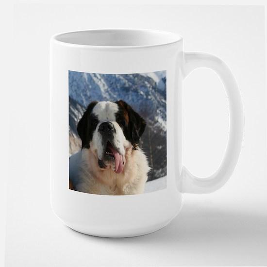 saint bernard Mugs