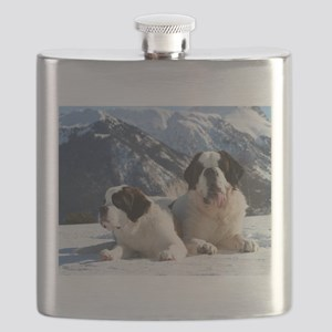 saint bernard group Flask