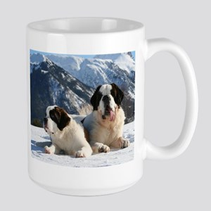 saint bernard group Mugs