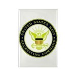 US Navy Recruiting Command Rectangle Magnet (10 pa