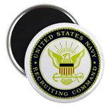 """US Navy Recruiting Command 2.25"""" Magnet (100 pack)"""