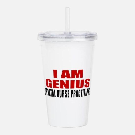I Am Genius Neonatal N Acrylic Double-wall Tumbler
