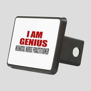I Am Genius Neonatal Nurse Rectangular Hitch Cover