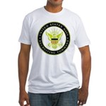 US Navy Recruiting Command Fitted T-Shirt