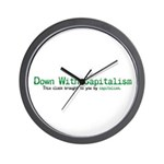 Capitalism Wall Clock