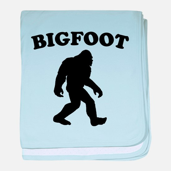 Bigfoot baby blanket