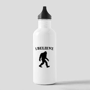 Bigfoot I Believe Water Bottle